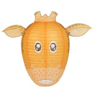 Giraffe Lampshade compress