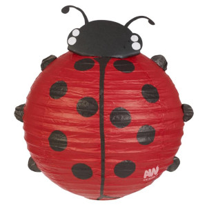 Ladybird Lampshade compressed