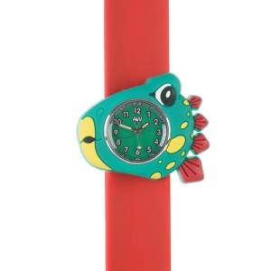 Stegosaurus close up c 3D animals Multi colour Easy to read Time teaching Children Boys Girls Cool watches Silicon Splash resistant Easy snap on wrist watches